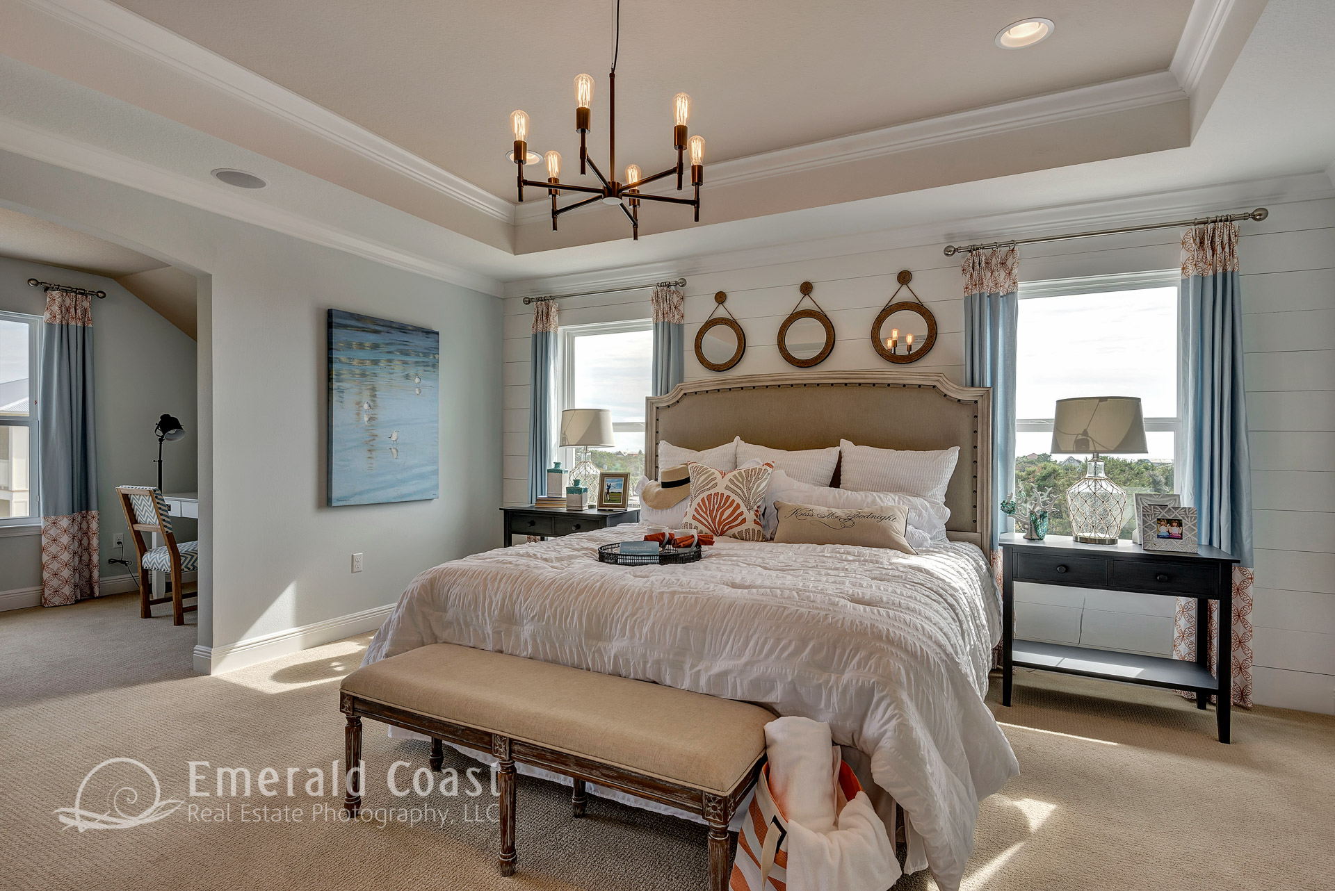 master bedroom beach style