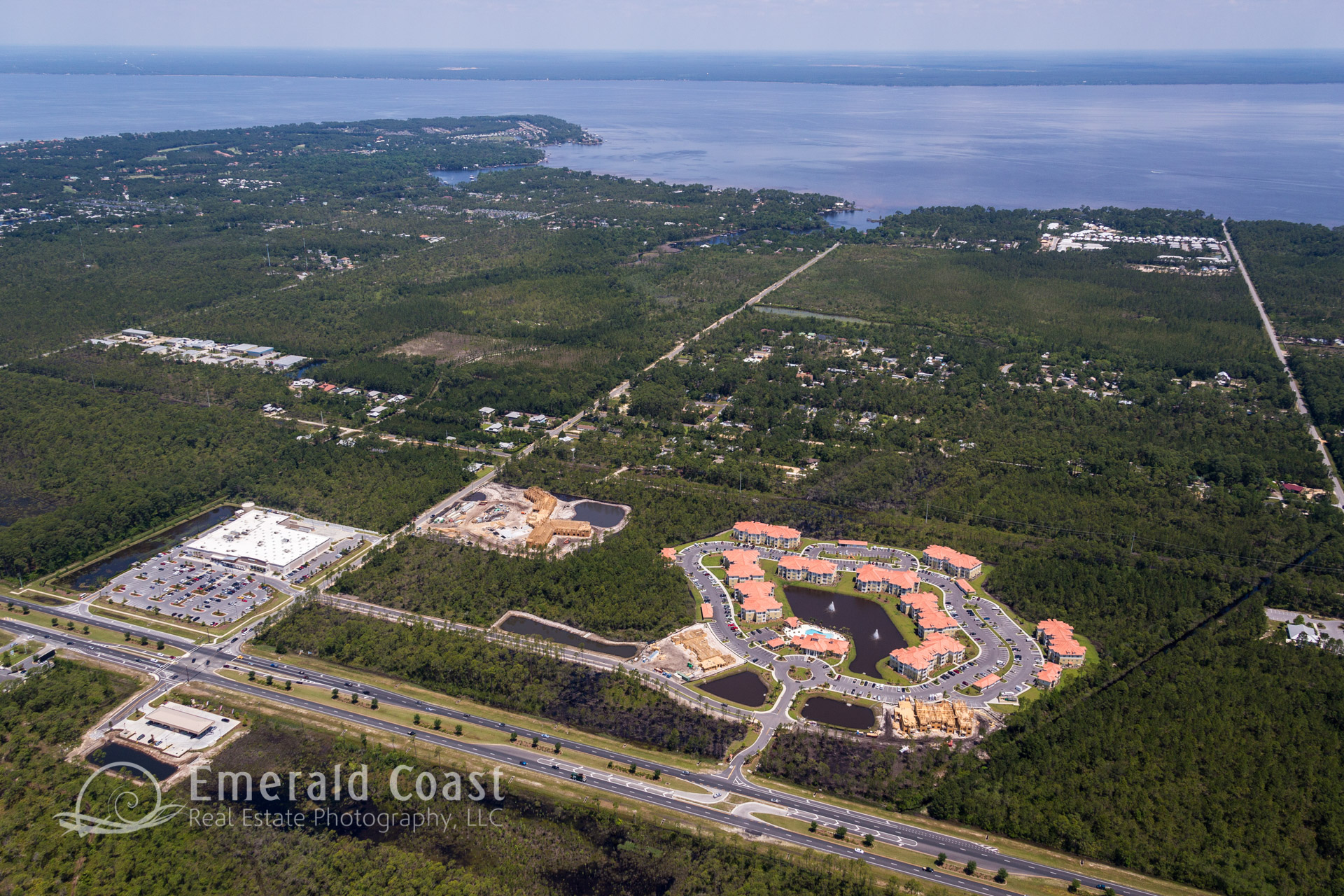 Aerial Photography of Santa Rosa Beach, Florida
