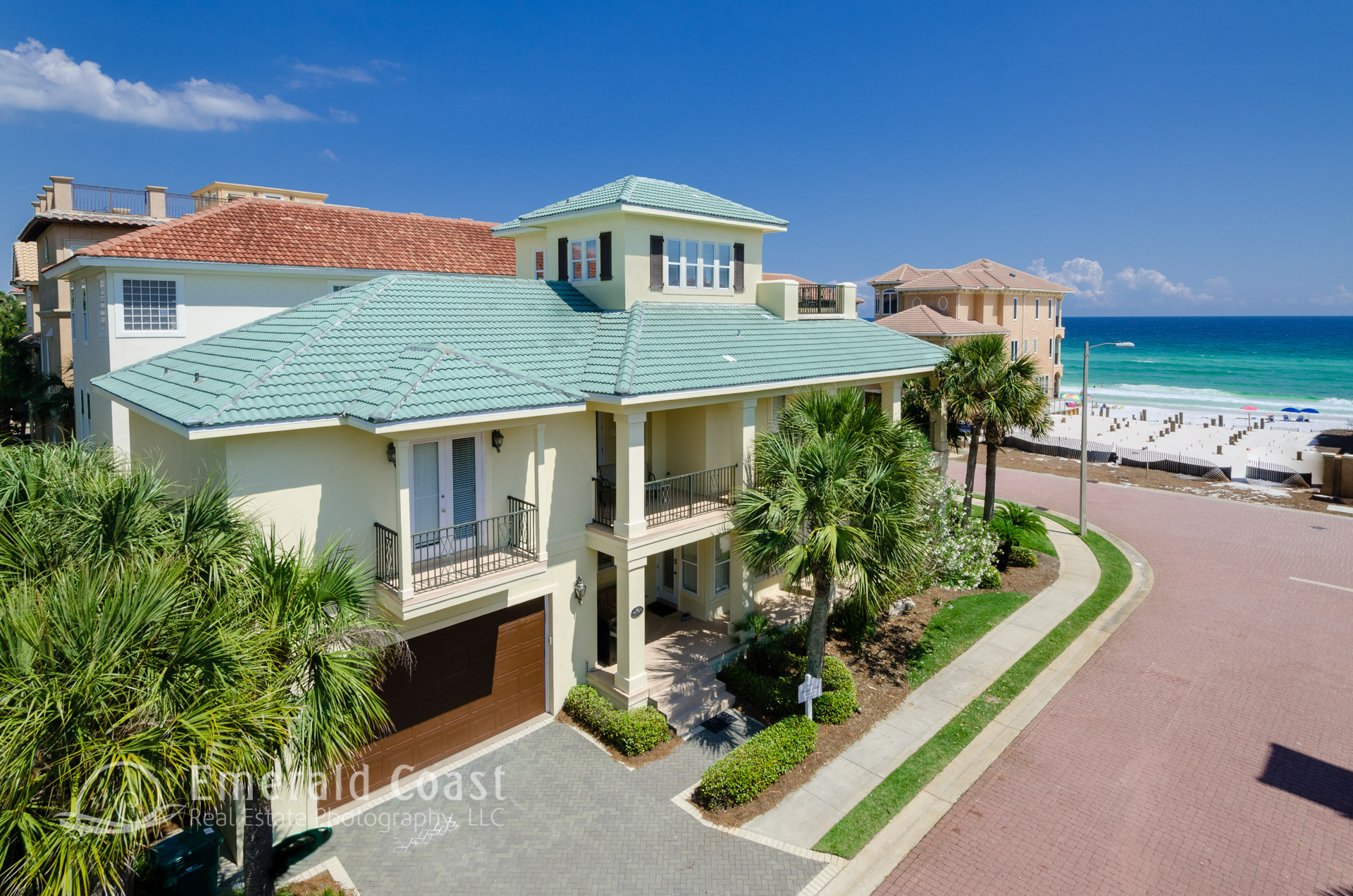 Aerial photo of home in Destiny by the Sea