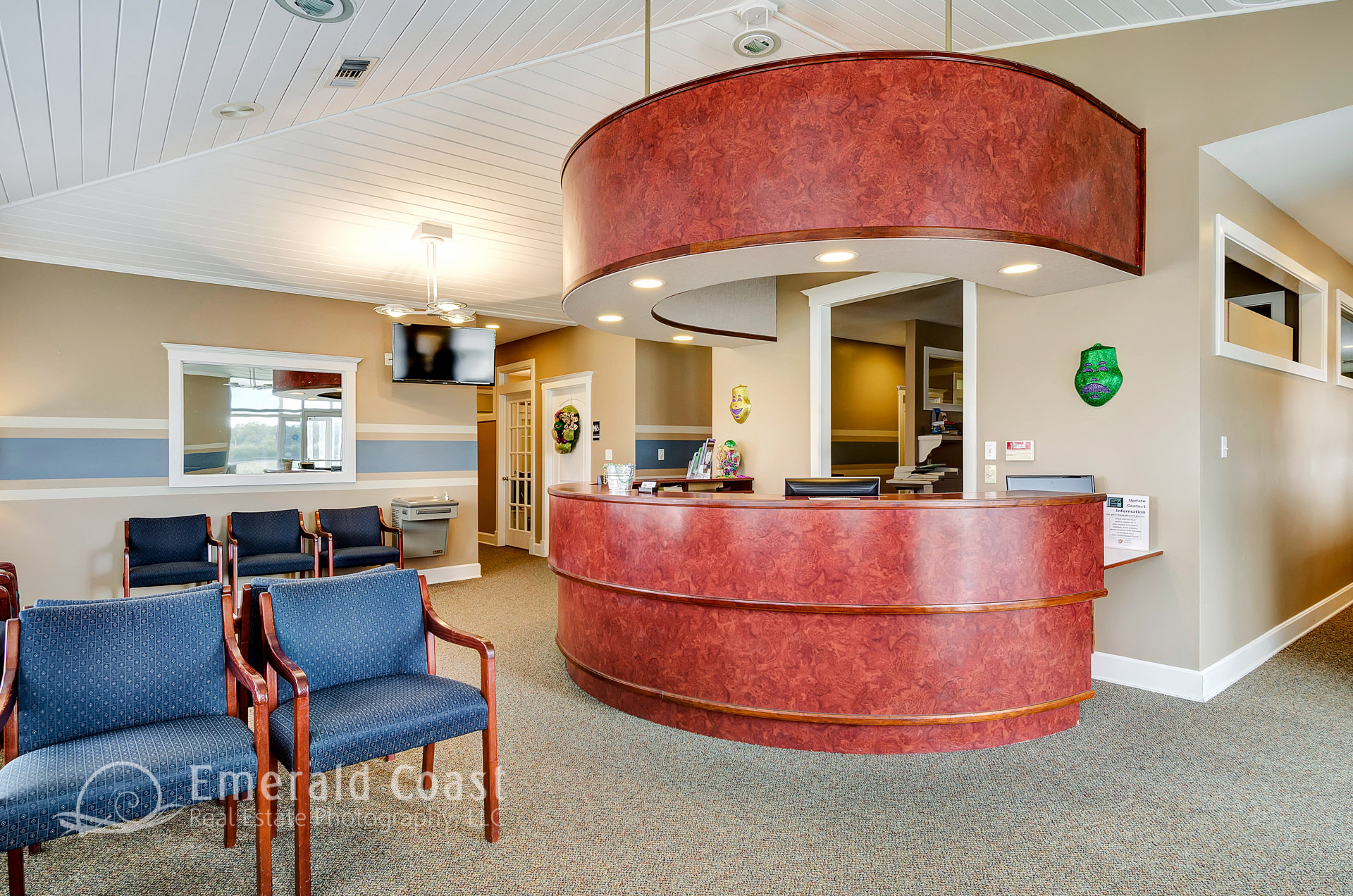Medical Office reception desk