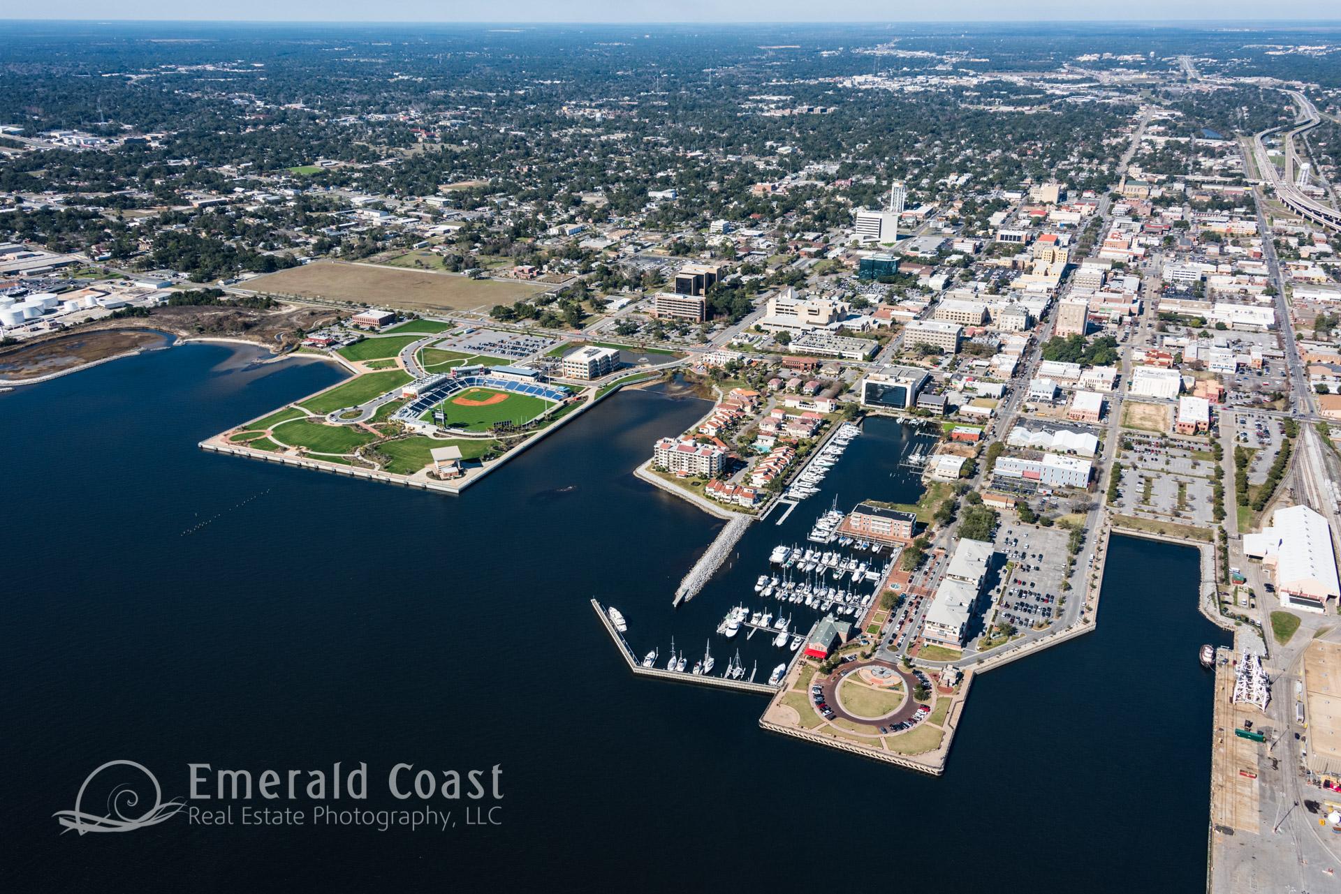 aerial Photo of Pensacola Port