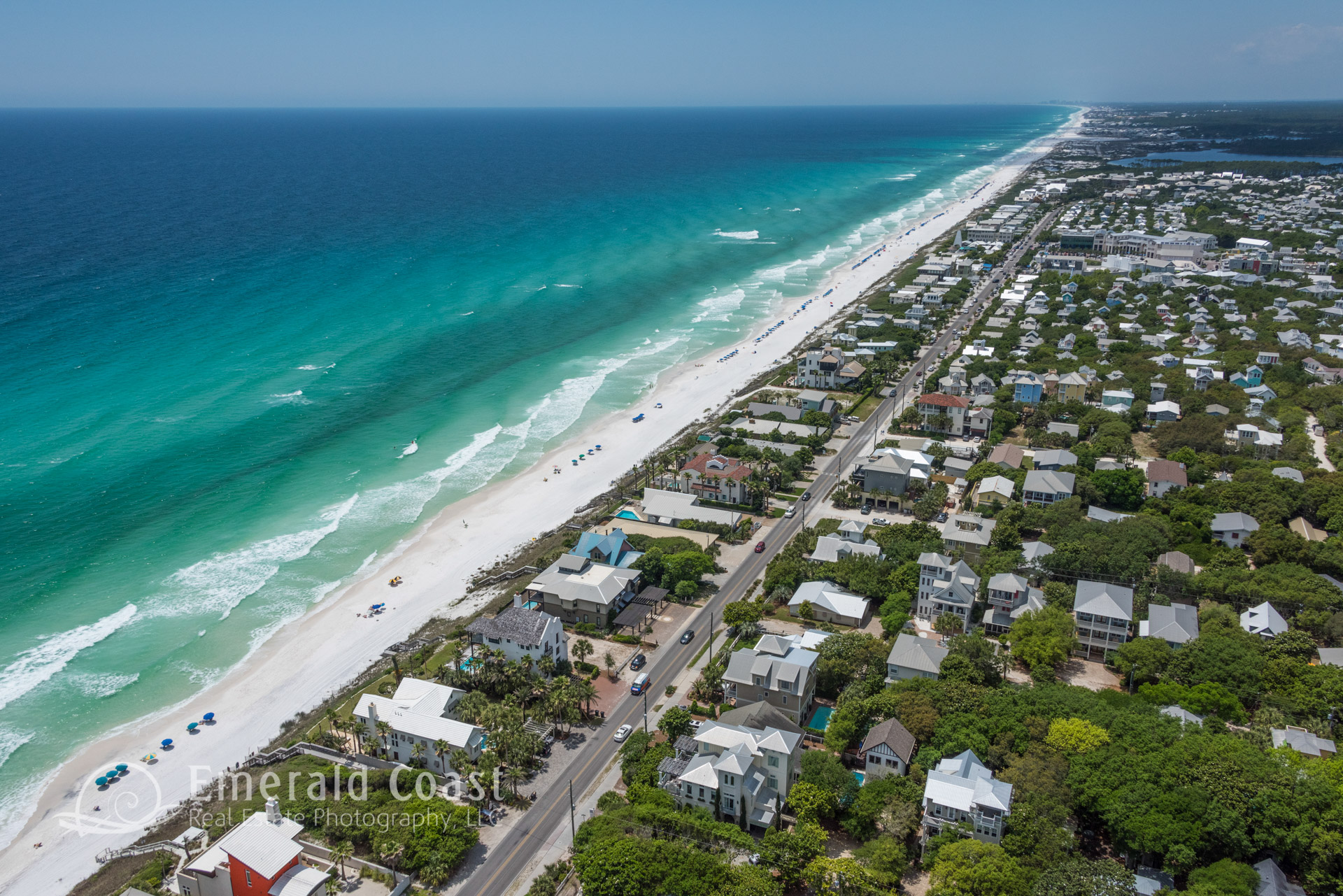 Aerial photo of Santa Rosa beach, florida