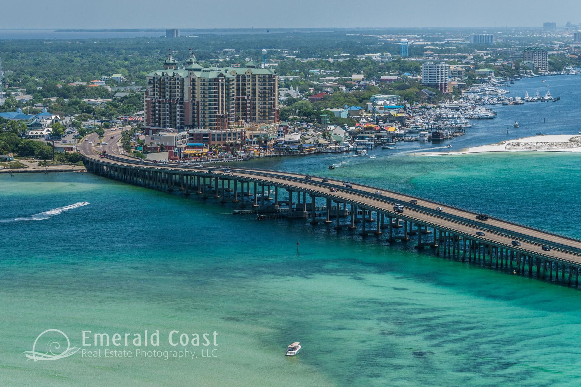Emerald Grande, Destin, Florida, Destin pass, Aerial Photography, Gulf of Mexico