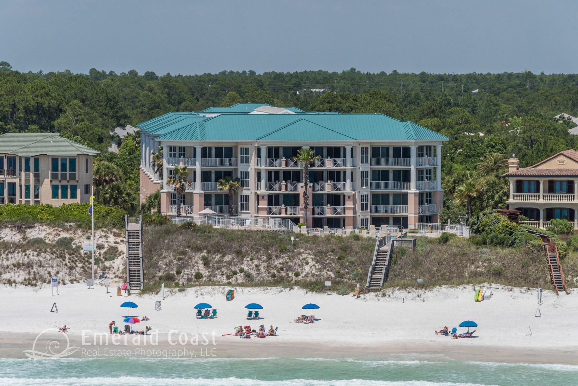 Inn at Blue Mountain Beach aerial photo