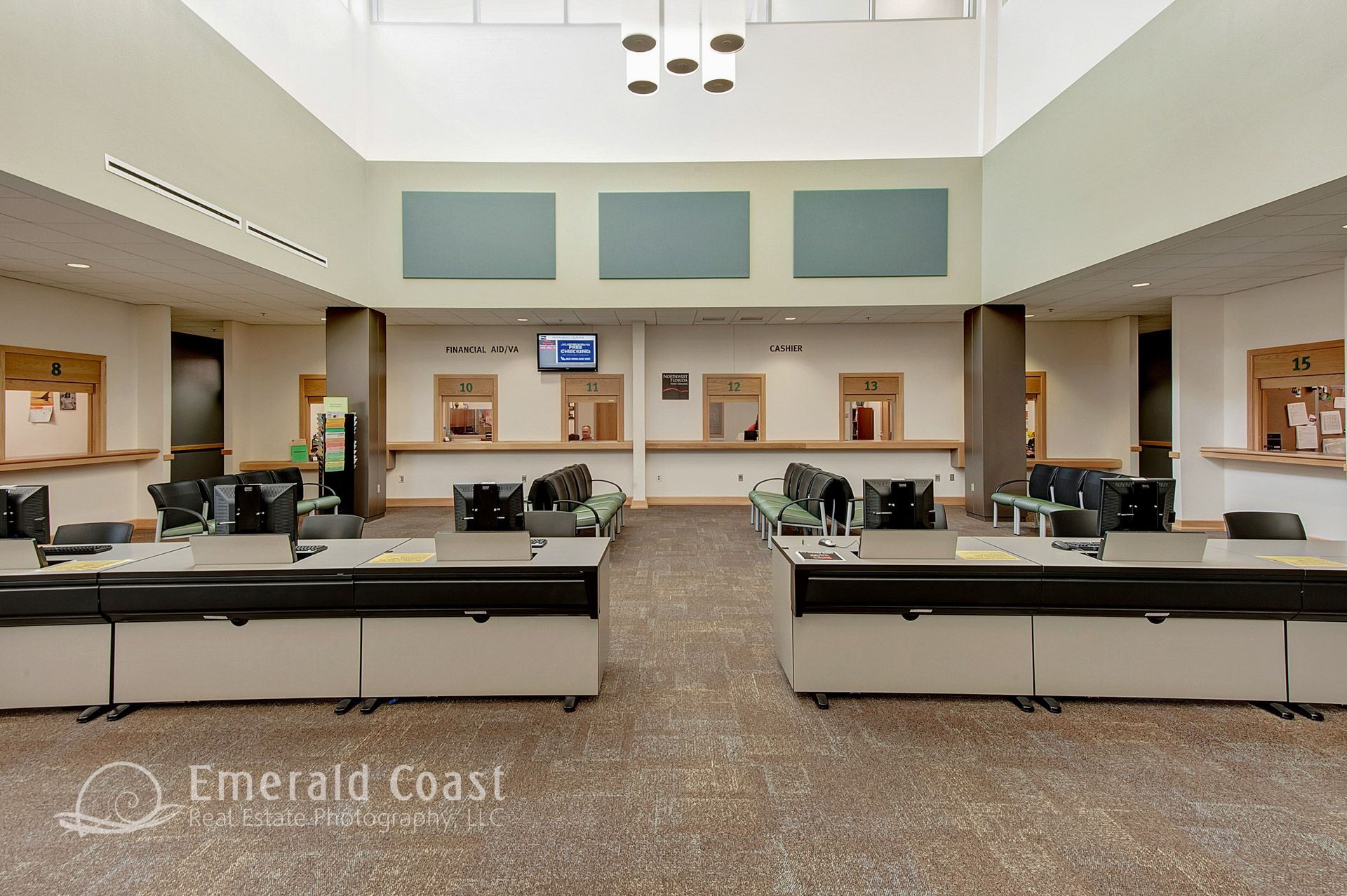 Lobby of Student Service NW Florida State