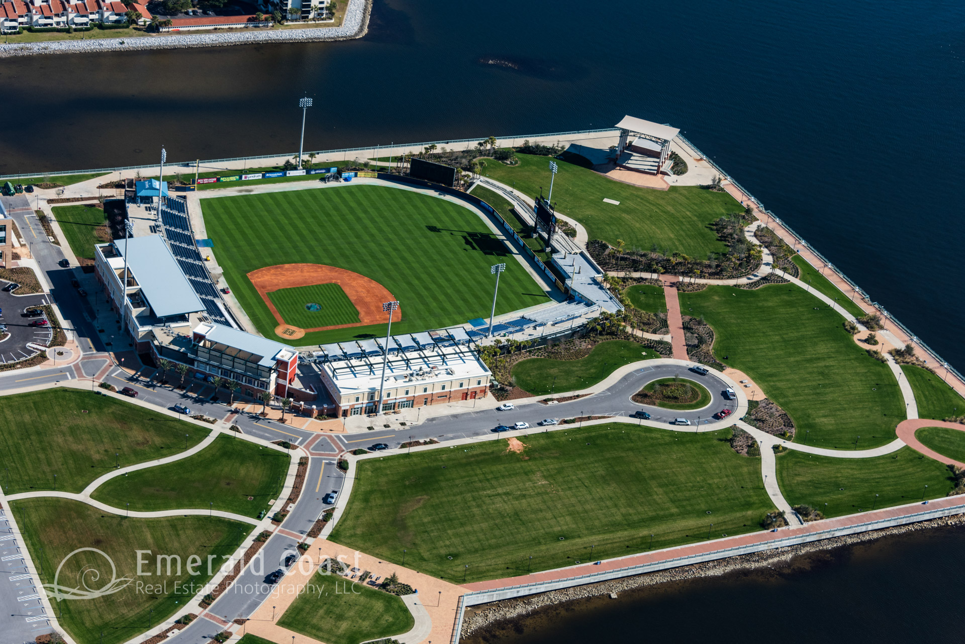 aerial photo of Maritime Park