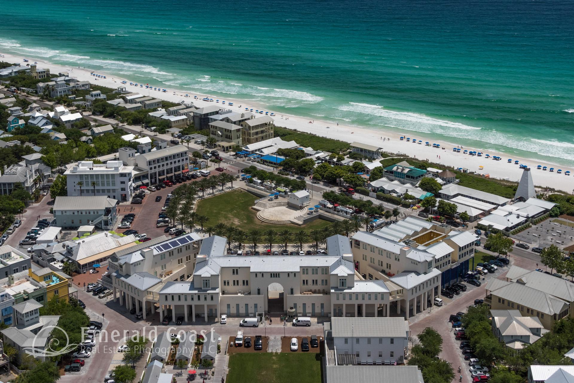 Aerial Photo of Seaside, Florida
